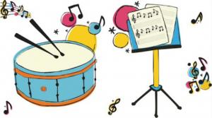 instrumenty pomagające w ćwiczenia na poprawę słuchu fonemtycznego